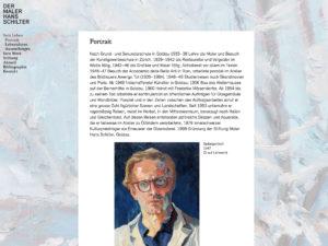 Webseite Maler Hans Schilter