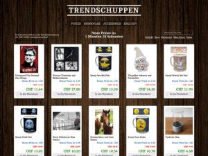 Trendschuppen
