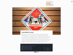 Einzelne Event-Seite in der Desktop-Ansicht